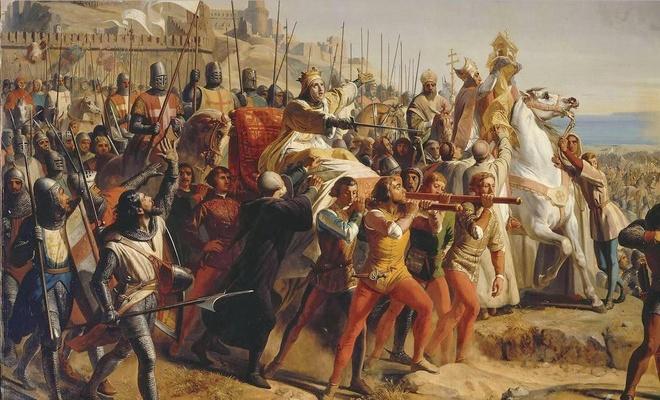 600 quan cam tu cua vua hui danh bai 26.000 quan cua Saladin the nao? hinh anh 4