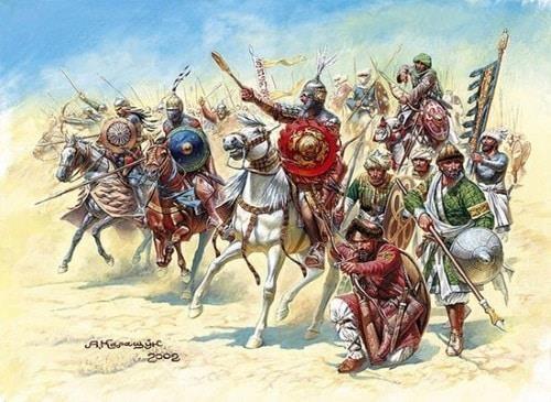 600 quan cam tu cua vua hui danh bai 26.000 quan cua Saladin the nao? hinh anh 5