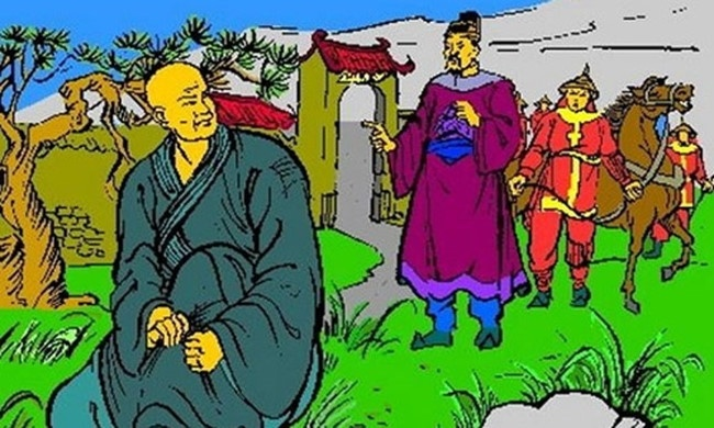 Vi vua nuoc Viet dau tien xuat gia di tu hinh anh 1