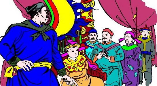 Vi vua nuoc Viet dau tien xuat gia hinh anh 7