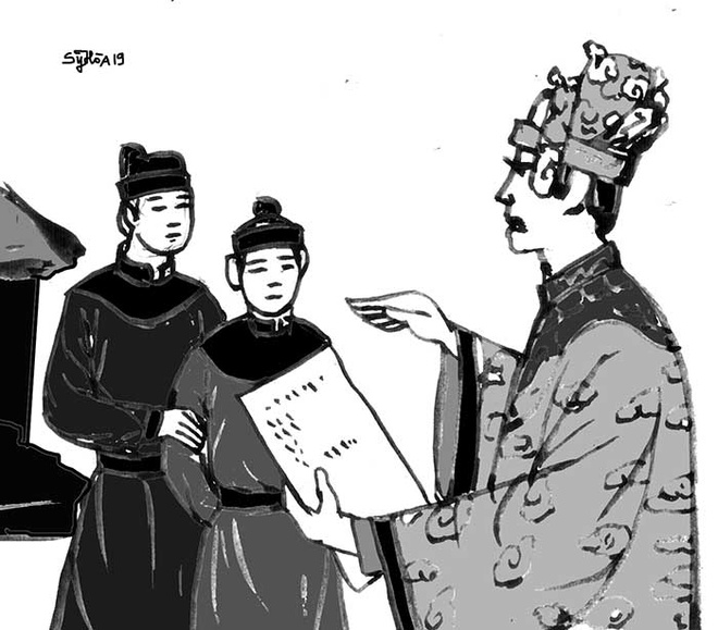 Le Hien Tong,  vua nha Hau Le,  vua len ngoi nho giac mong nguoi khac anh 2