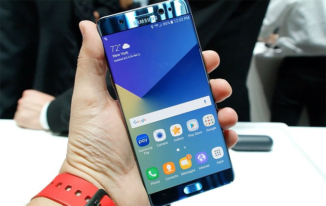 Samsung tai che 157 tan tai nguyen tu vu no cua Galaxy Note 7 hinh anh