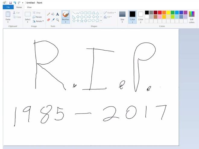 Microsoft Paint bi khai tu hinh anh