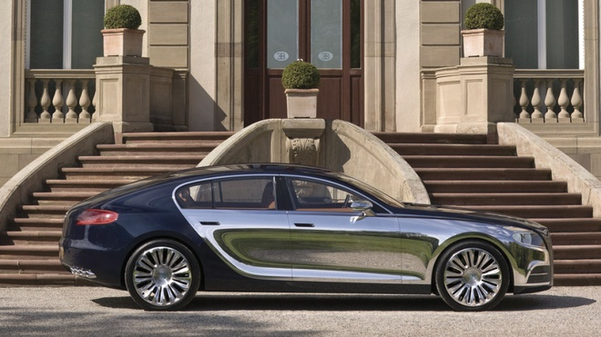 Sieu xe Bugatti moi se co 4 cua, su dung dong co khi nen hinh anh 2