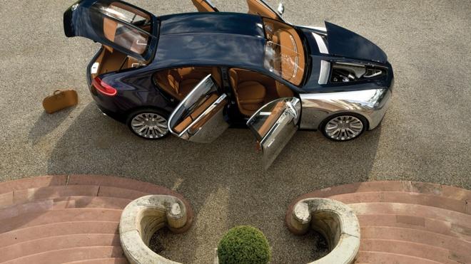 Sieu xe Bugatti moi se co 4 cua, su dung dong co khi nen hinh anh 3