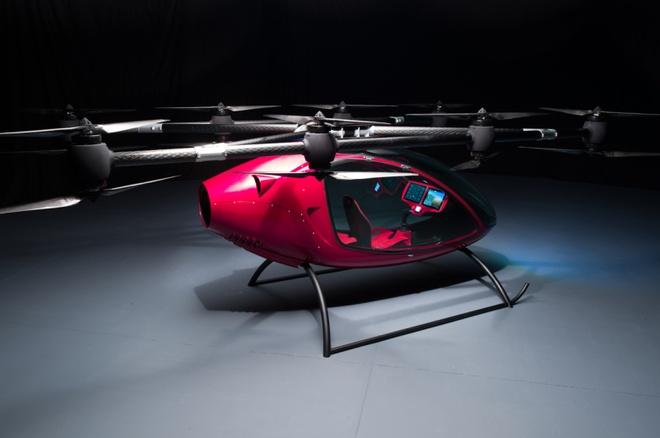 May bay khong nguoi lai Passenger Drone - taxi cua tuong lai hinh anh