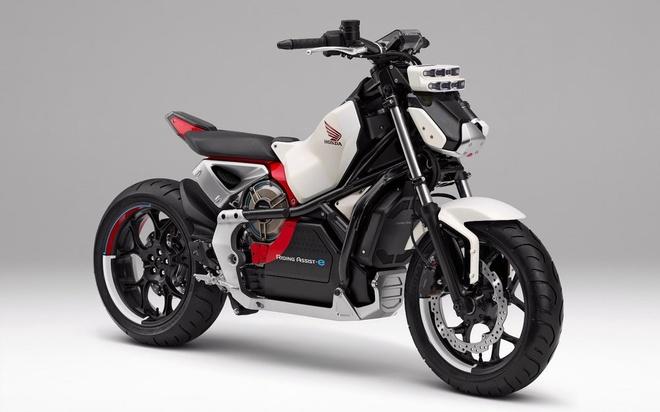 Honda Riding Assist-e: moto dien tu can bang doc dao hinh anh