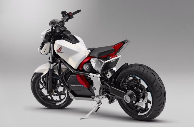 Honda Riding Assist-e: moto dien tu can bang doc dao hinh anh 3