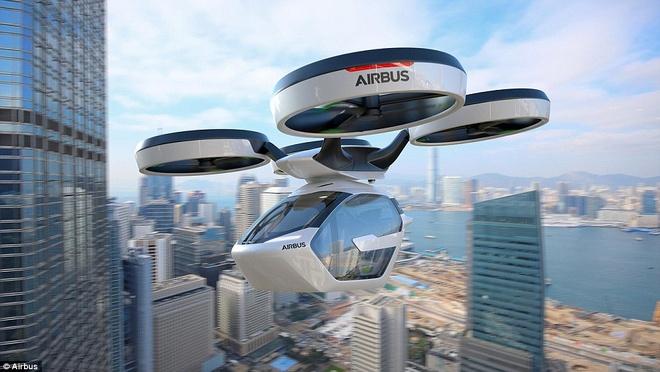 Taxi bay cua Airbus hinh anh