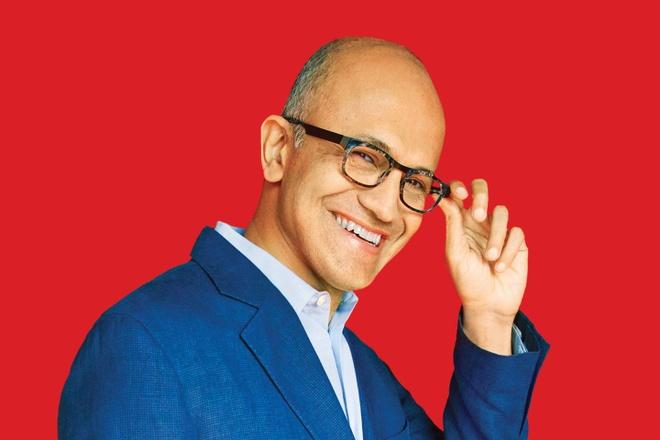 Satya Nadella va con duong dua Microsoft tro ve ngoi ba chu hinh anh