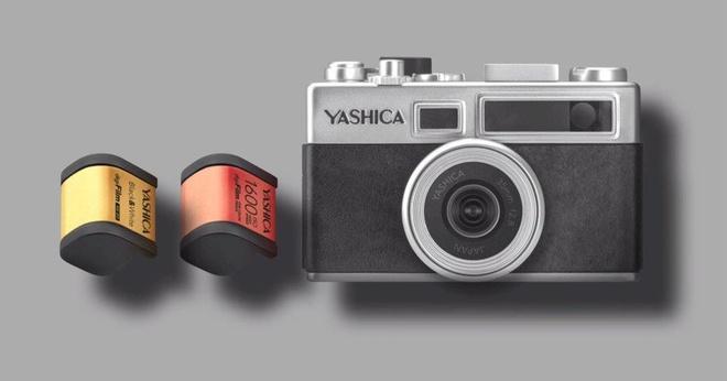 Yashica Y35 - may anh ki thuat so phong cach may phim hinh anh 1