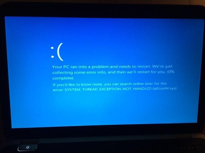Dung cap nhat Windows 10 Fall Creators de tranh loi chet choc nay hinh anh
