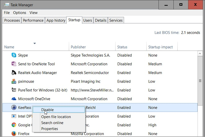 Nhung tuyet chieu giup tang toc Windows 10 hinh anh 4