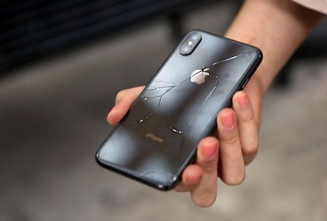 iPhone X vo chi sau mot lan roi hinh anh 1