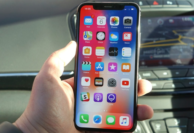 Jailbreak thanh cong iPhone X anh 1