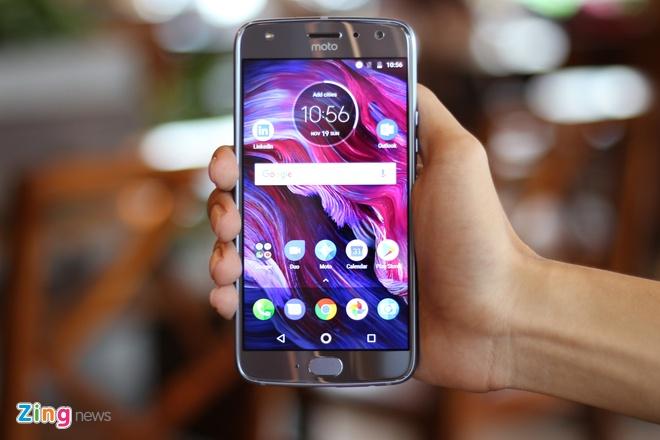Mo hop Motorola X4 tai Viet Nam: Dep nhung de bam van tay hinh anh 8