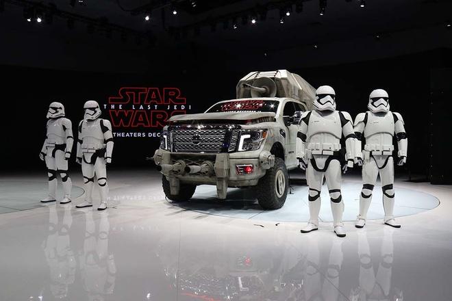 Dan xe hop phong cach Star Wars tu Nissan hinh anh