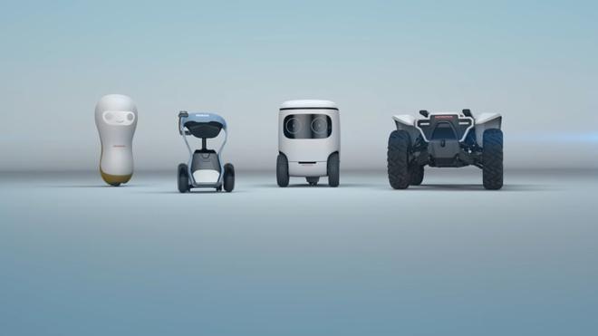 Honda trinh lang thiet ke cua 4 robot dang yeu hinh anh