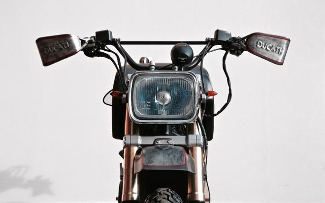 'Quai vat' Ducati 600 duoc tai sinh voi dien mao moi hinh anh 3