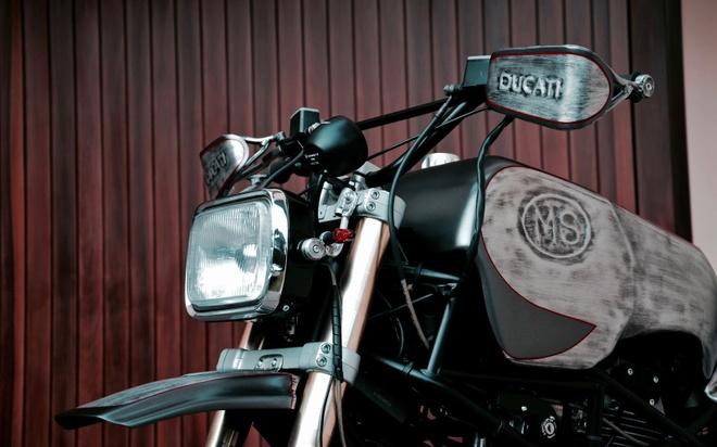'Quai vat' Ducati 600 duoc tai sinh voi dien mao moi hinh anh 4