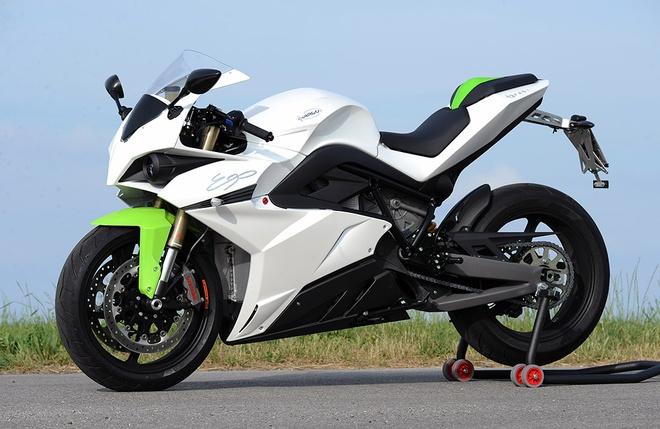 MotoGP chon Energica Ego cho giai dua moto dien sap toi hinh anh 2