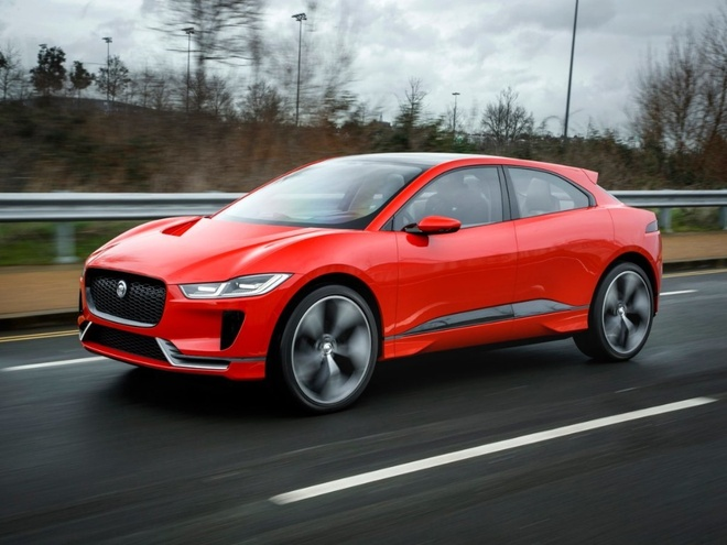 Can canh xe dien Jaguar I-Pace 2018: Doi thu cua Tesla Model hinh anh