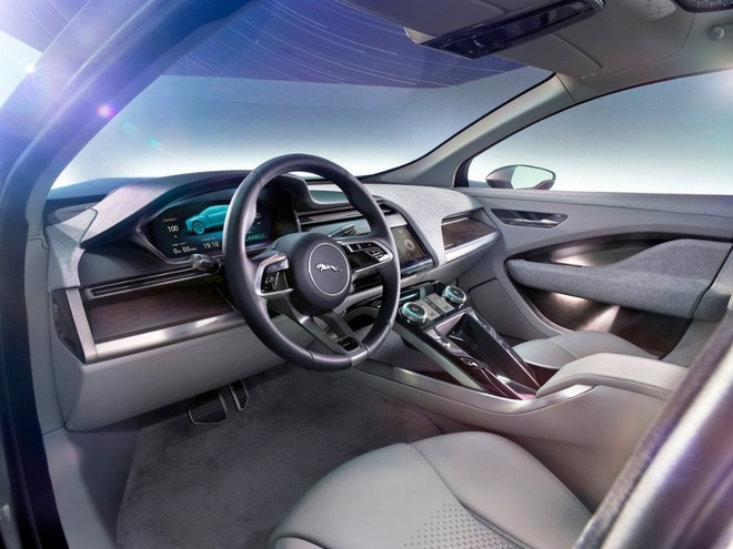 Can canh xe dien Jaguar I-Pace 2018: Doi thu cua Tesla Model hinh anh 5