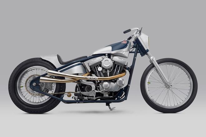 Kuzuri Harley XL1200 Sportster - 'nguoi soi' trong lang moto hinh anh