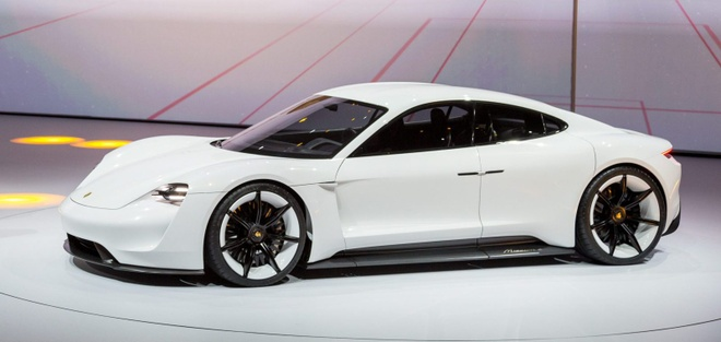 Sieu xe dien Porsche Mission E hinh anh