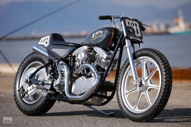 Harley-Davidson do phong cach Nhat Ban hinh anh 3