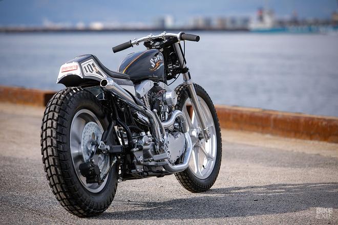 Harley-Davidson do phong cach Nhat Ban hinh anh 4