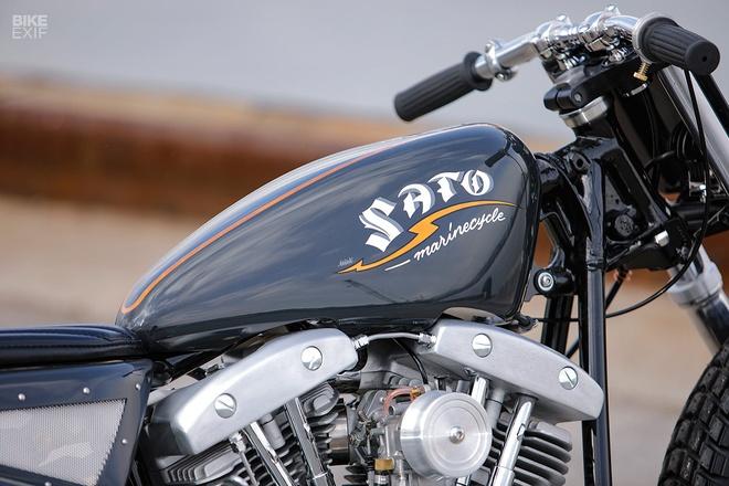 Harley-Davidson do phong cach Nhat Ban hinh anh 6
