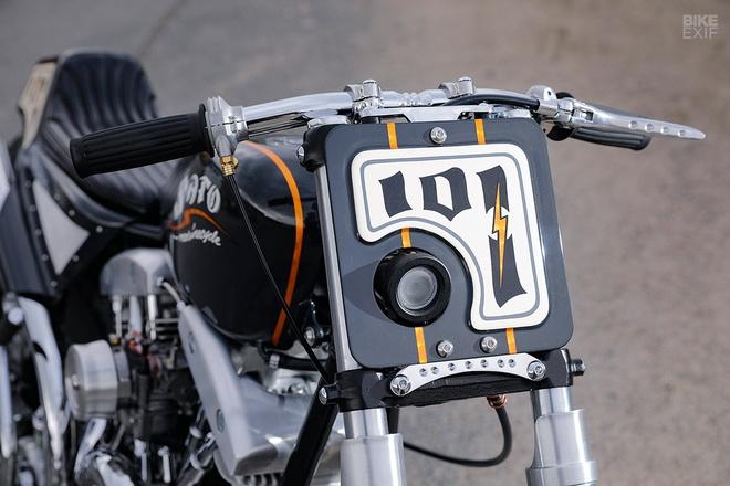 Harley-Davidson do phong cach Nhat Ban hinh anh 7