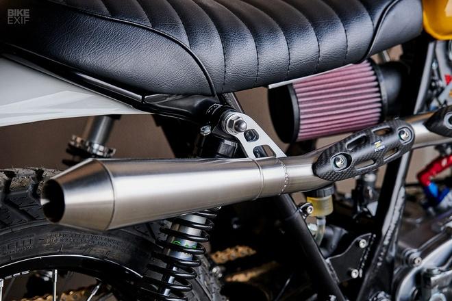 'Tia nang vang' Yamaha SR500 Scrambler tai Chicago hinh anh 7