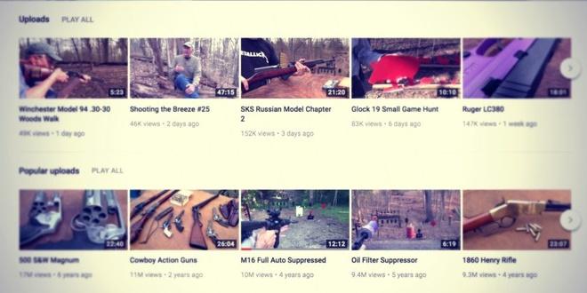 YouTube ban lenh cam cac video lien quan den sung anh 2