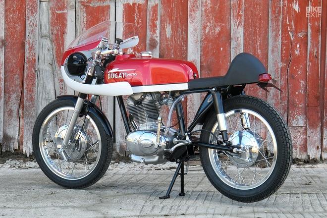 Ducati 250 hang hiem do phong cach cafe racer hinh anh 11