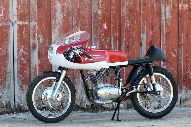 Ducati 250 hang hiem do phong cach cafe racer hinh anh 2