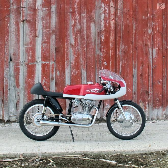 Ducati 250 hang hiem do phong cach cafe racer hinh anh 3