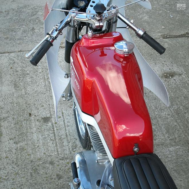 Ducati 250 hang hiem do phong cach cafe racer hinh anh 5