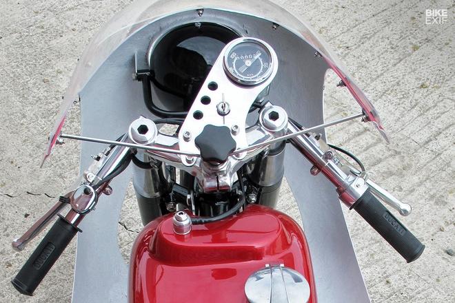 Ducati 250 hang hiem do phong cach cafe racer hinh anh 8