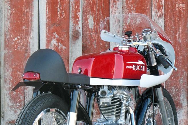 Ducati 250 hang hiem do phong cach cafe racer hinh anh 9