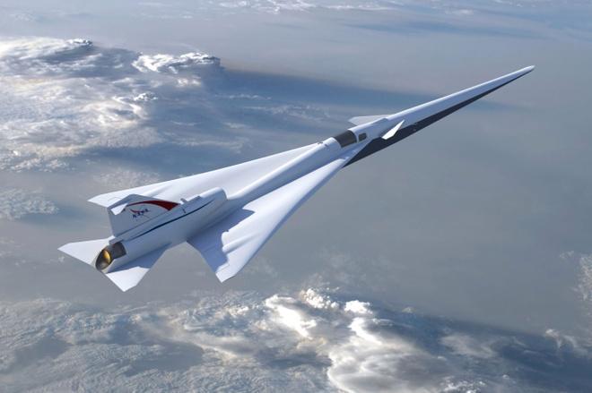 NASA dau tu 248 trieu USD phat trien may bay sieu thanh moi hinh anh 1
