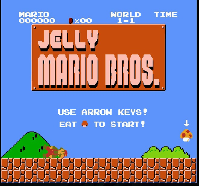 Game Jelly Mario thu vi anh 1