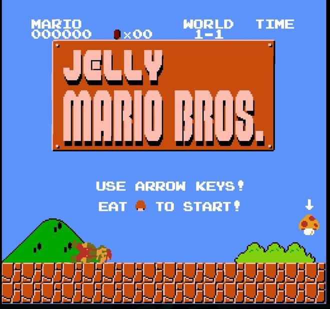 Thu thach voi phien ban game Mario hoa deo gay uc che hinh anh