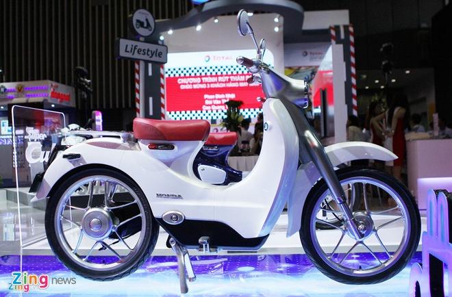 Honda EV Cub Concept tai Viet Nam hinh anh