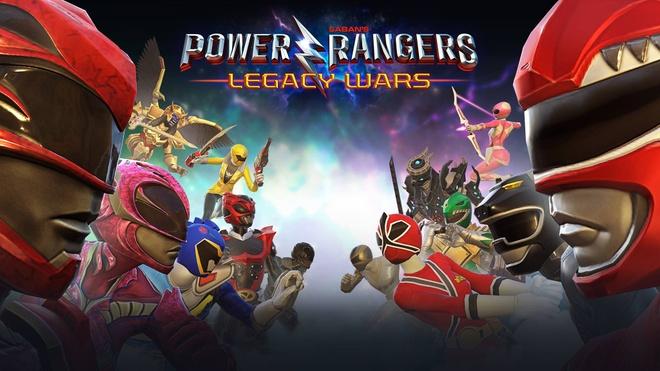 Tro ve tuoi tho voi Power Rangers: Legacy Wars hinh anh