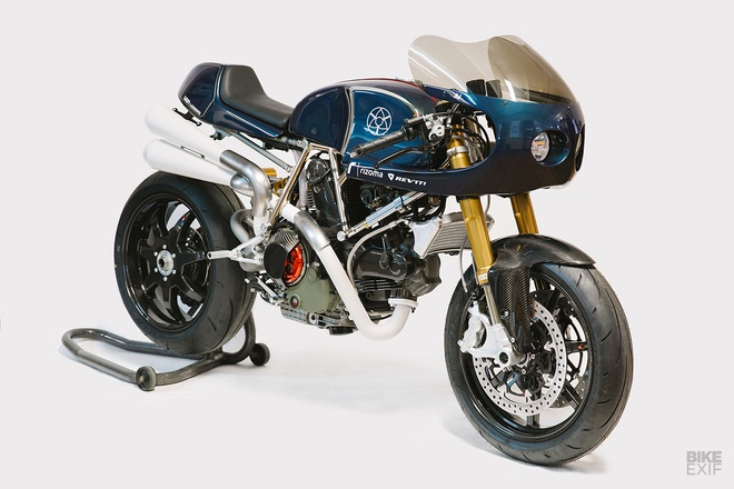 Ducati Monster 1100 do co bap theo phong cach My hinh anh