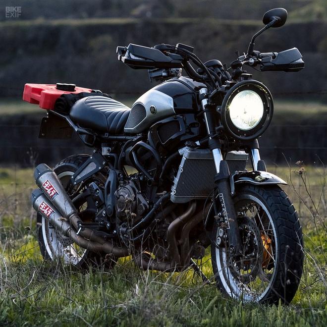 Yamaha XSR700 Scrambler do anh 3