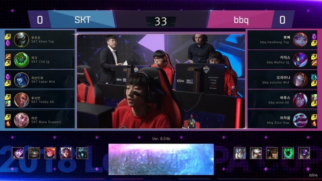 SKT T1 co chien thang de dang truoc bbq Olivers tai Kespa Cup hinh anh 1