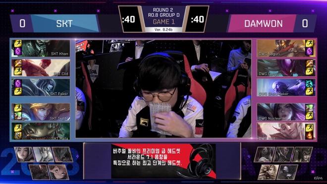 SKT T1 bat ngo thua soc Damwon Gaming o Kespa Cup hinh anh 1